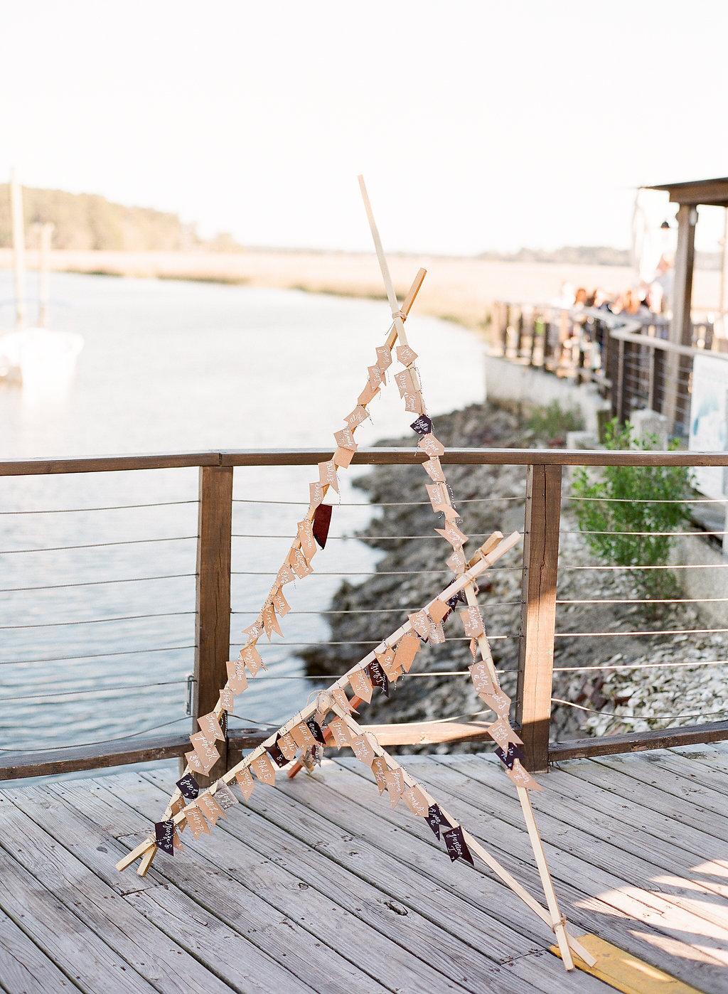 the-wyld-dock-bar-diy-wedding-escort-cards-savannah-wedding-planner-savannah-event-designer-ivory-and-beau-leather-escort-cards-calligraphy-savannah-the-wyld-dock-bar-wedding.jpg