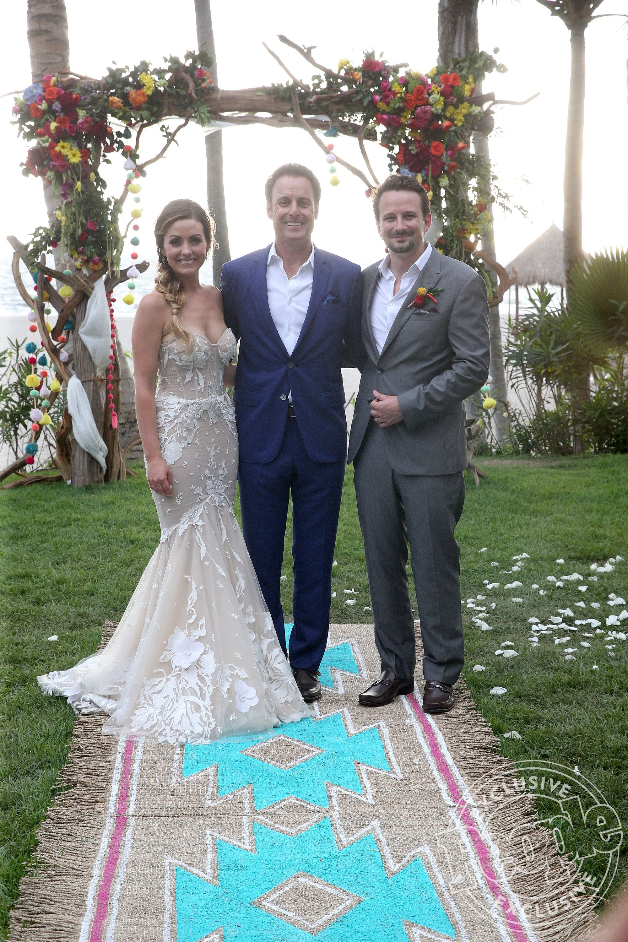 Read more about Carly and Evan's wedding on  People's website.
