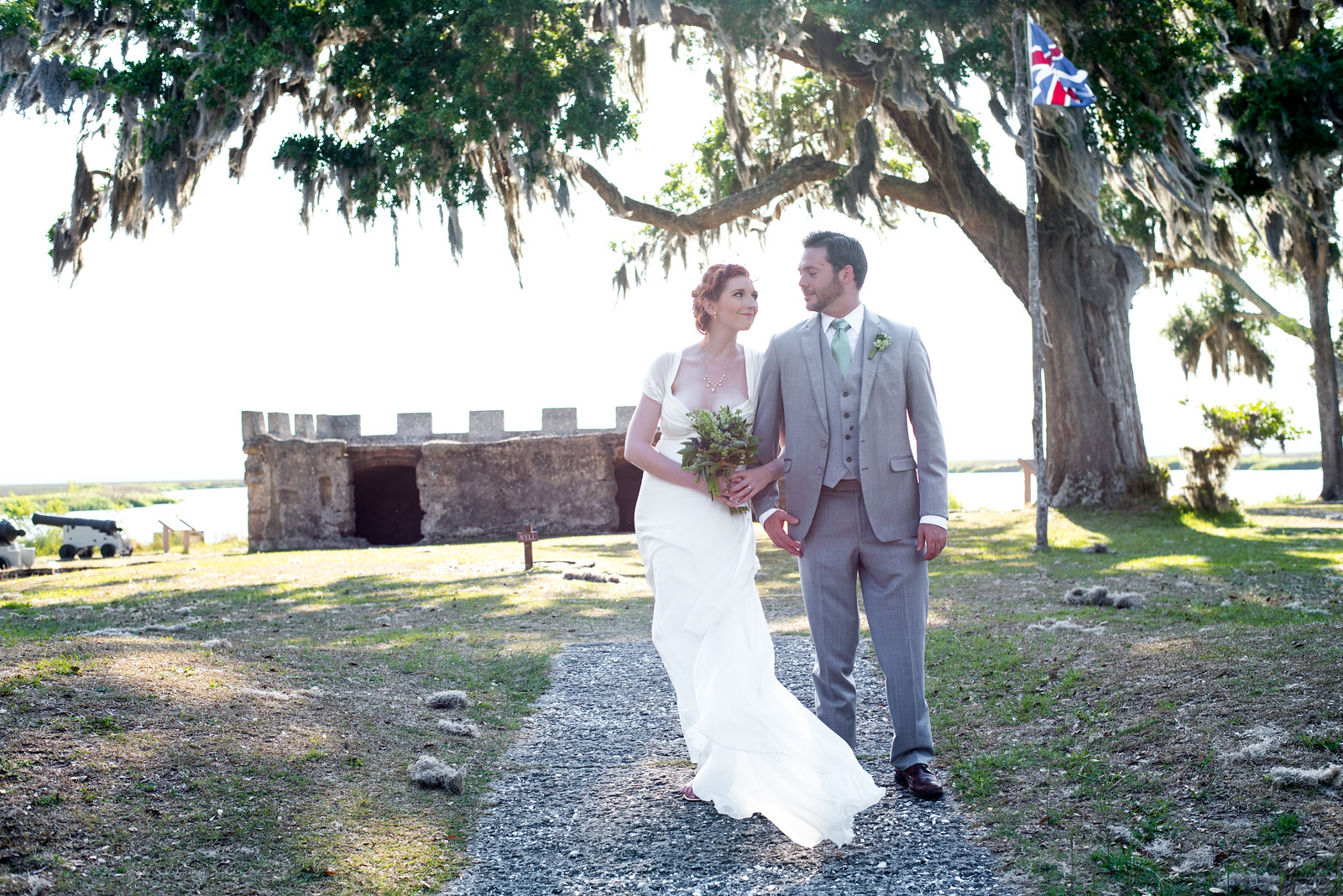 GENNY'S HISTORIC FORT WEDDING