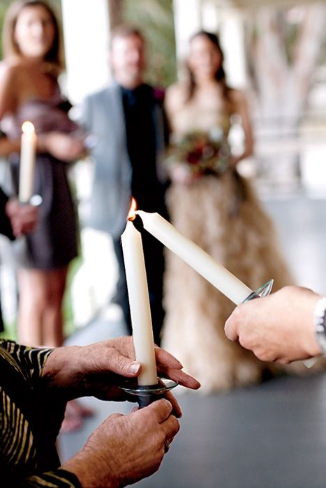Photo via  Intimate Weddings  //  Brides.com