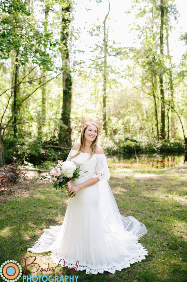 JESSICA'S ETHEREAL OUTDOOR CEREMONY