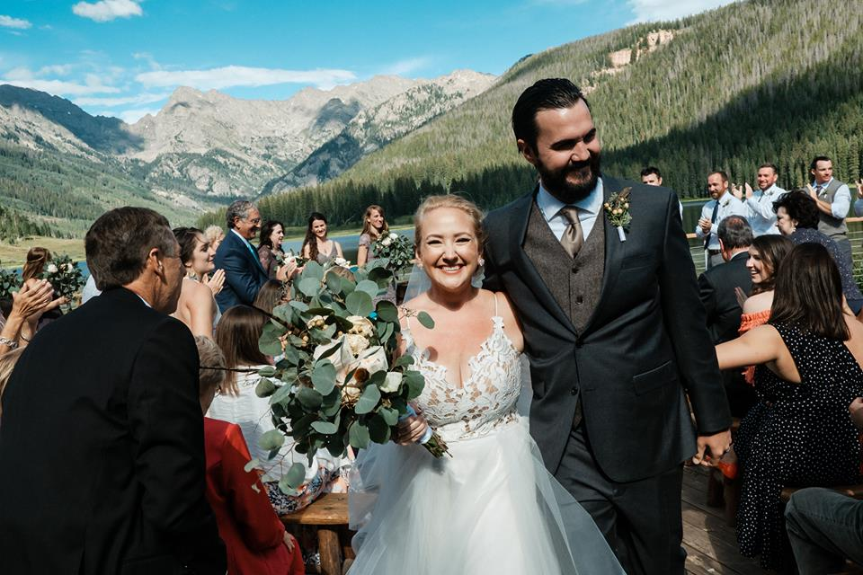 KATIE'S INCREDIBLE MOUNTAINTOP CEREMONY