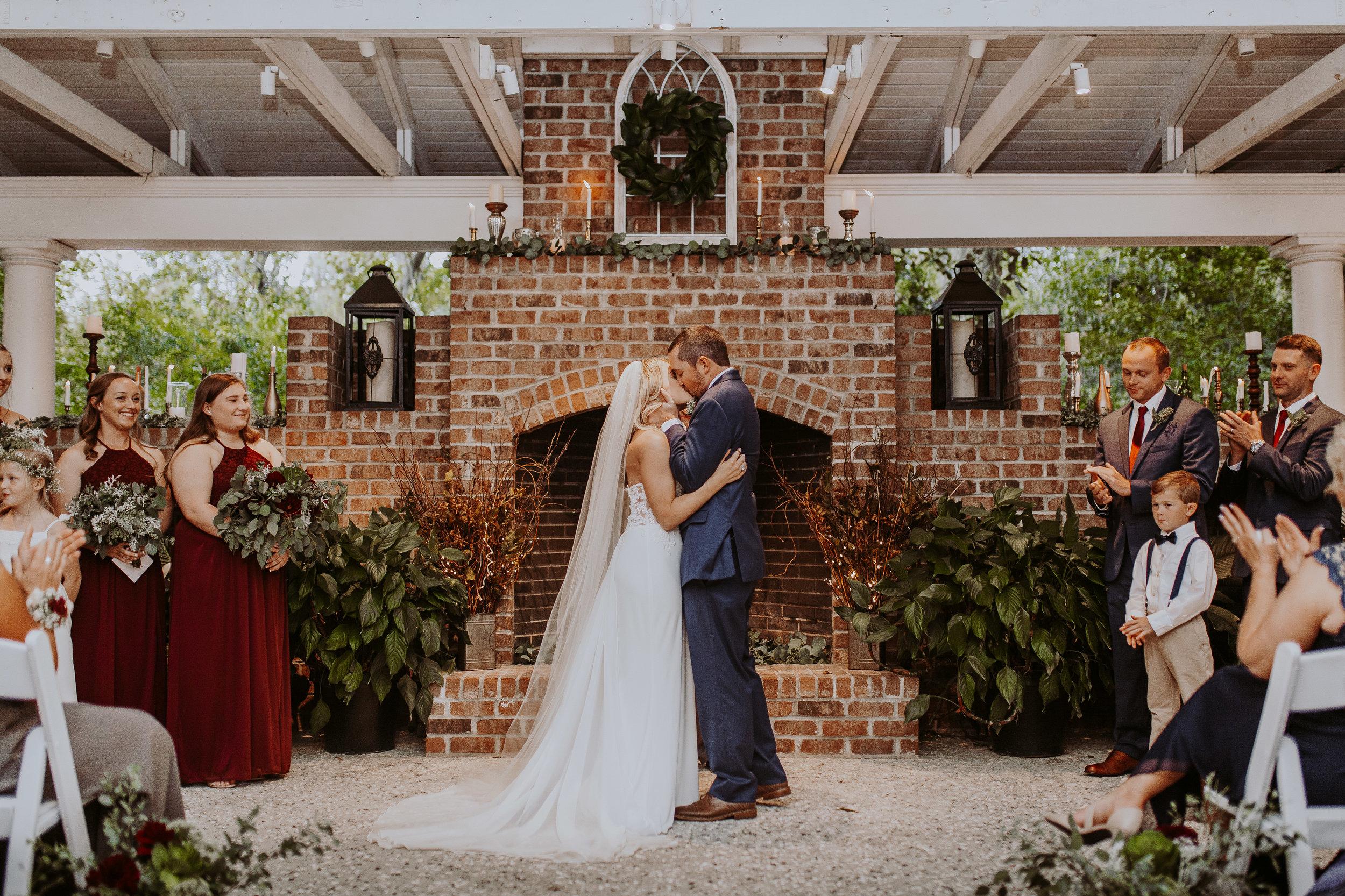 DANIELLE'S MAGICAL MACKEY HOUSE WEDDING