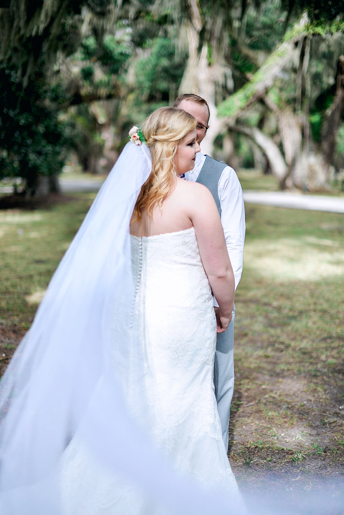 """- """"I can't begin to explain how beautiful I felt in my wedding gown and how much I love seeing how perfectly it met all of my specific desires. Thank you all again SO much for your help in finding the perfect gown. It exceeded all my expectations and it is why I continue to recommend you to my photography clients today."""""""