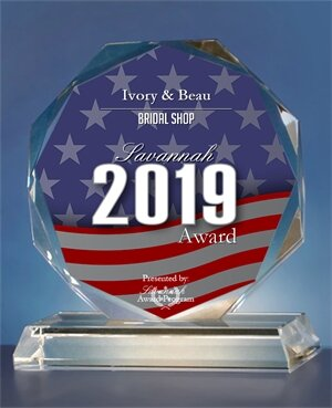 - Ivory & Beau has been selected for the 2019 Savannah Awards in the category of Bridal Shop!!We are so honored & grateful!!