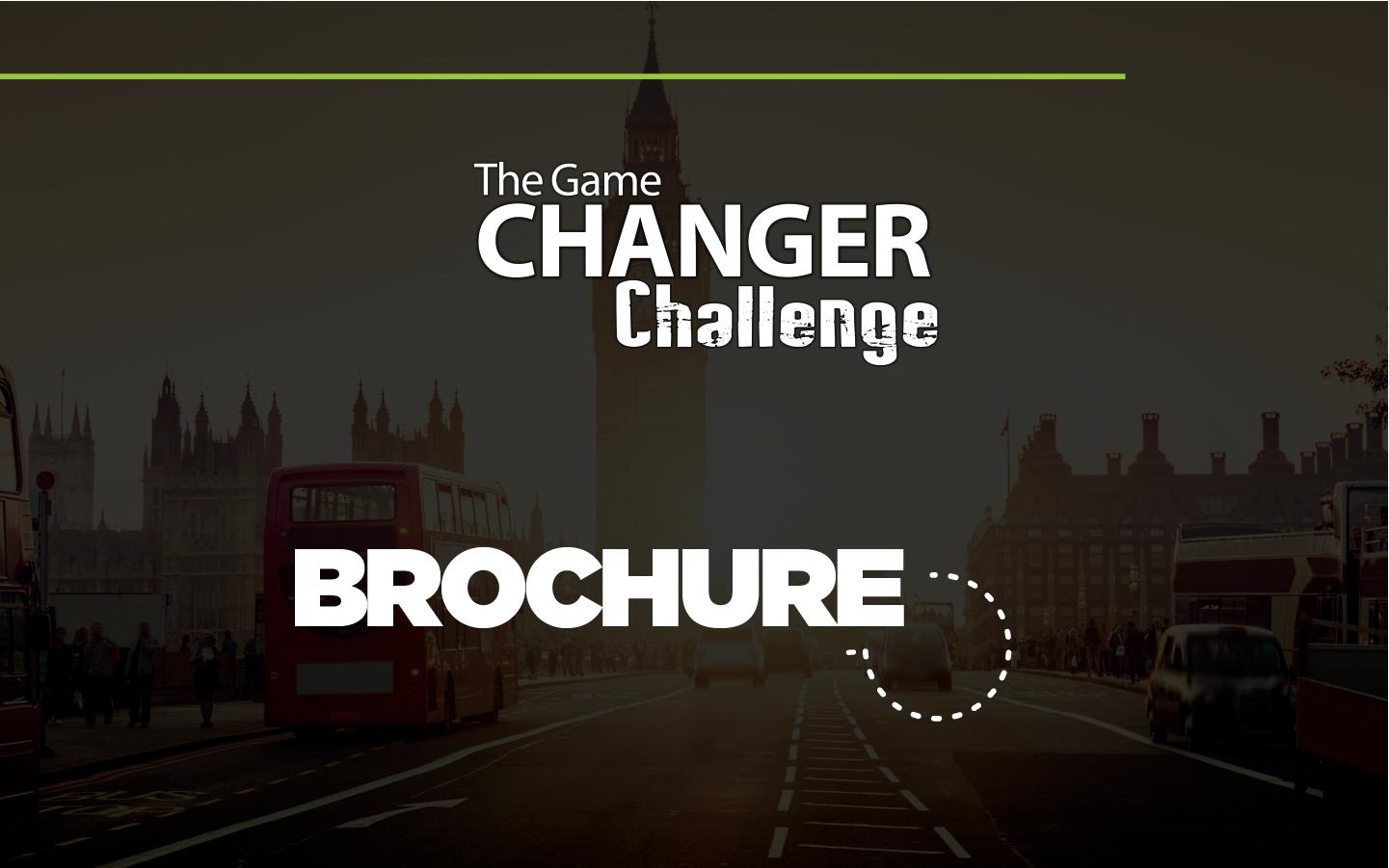 The Game Changer Challenge - DEL 29 DE ENERO AL 03 DE FEBRERO 2018
