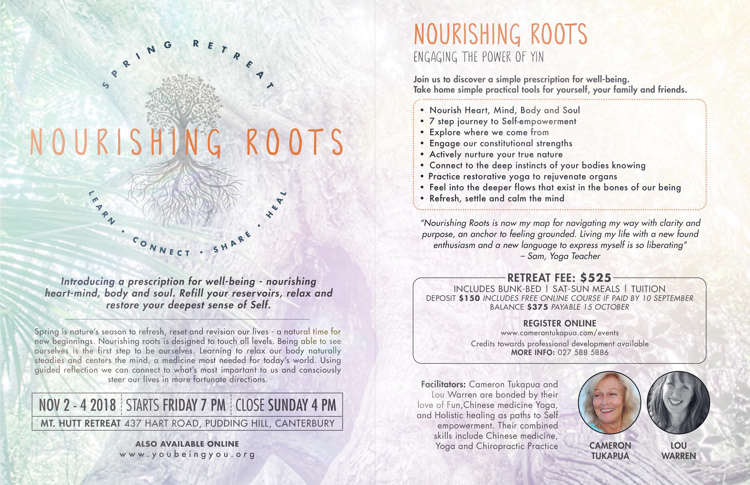 Nourishing Roots MT HUTT