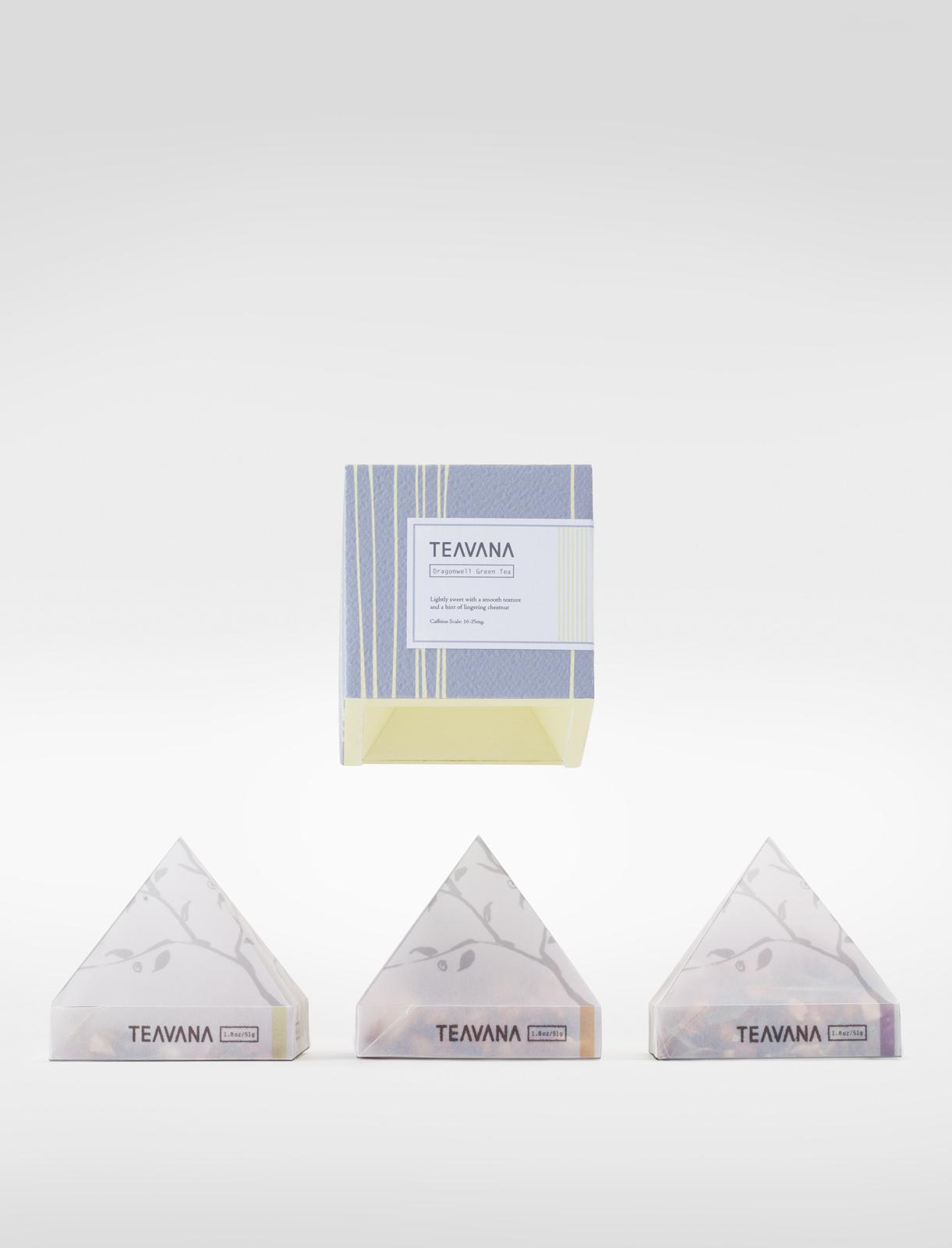Teavana Spec packaging by Cindy Hu
