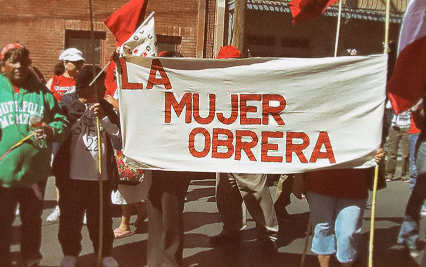 "La Mujer Obrera is a local independent organization dedicated to creating communities defined by women. Our organization was founded in 1981 by women who were both garment workers and Chicana activists. Our experience showed us that as women we must implement our own ideas and strategies for our community. La Mujer Obrera has developed its organizing strategies based on the following basic human rights: employment, housing, education, nutrition, health, peace, and political liberty. Over the years, La Mujer Obrera has been one of the leaders in the struggle against an ""undeclared war"" on marginalized women workers of Mexican heritage.   Today La Mujer Obrera continues to challenge the perception that women are an infinite source of cheap labor and that progress means we are the ones who must sacrifice. We must see ourselves as being at the forefront of defining progress within our community. The struggle of women in the factories and resistance to NAFTA has strengthened us to create community. Our collective practice includes: cooking, raising our children, working the land, commerce, artisanry, and cultural celebrations. We need these practices to safeguard our ancestral knowledge and apply it to the present. This is our contribution as women workers in El Paso to the struggle for work, dignity, and justice. The space we are creating belongs to future generations of women and their families."