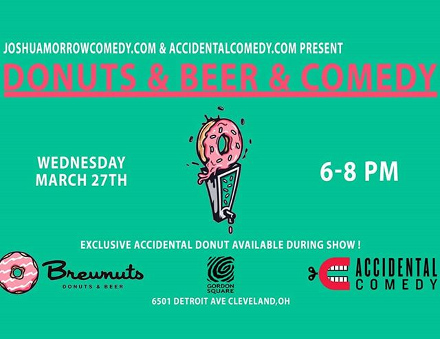 We are back at it again for a very special free happy hour show at @brewnuts in Gordon Square! Come on out at 6p to see some of the city's best!