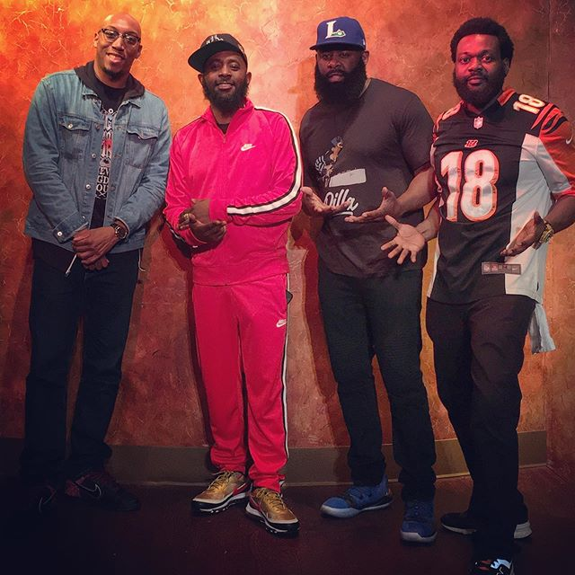 Had a great weekend at the @toledofunnybone with @karlousm @realstarks27 and @yoseph_yisrael_comedy. Karlous had the club packed out every show, even had Detroit in the building. The realest dude in the game #major