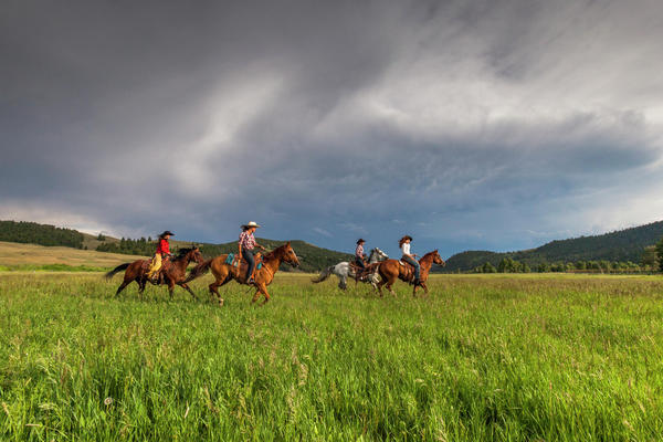THE RANCH AT ROCK CREEK Luxury All-Inclusive Guest Ranch in Montana