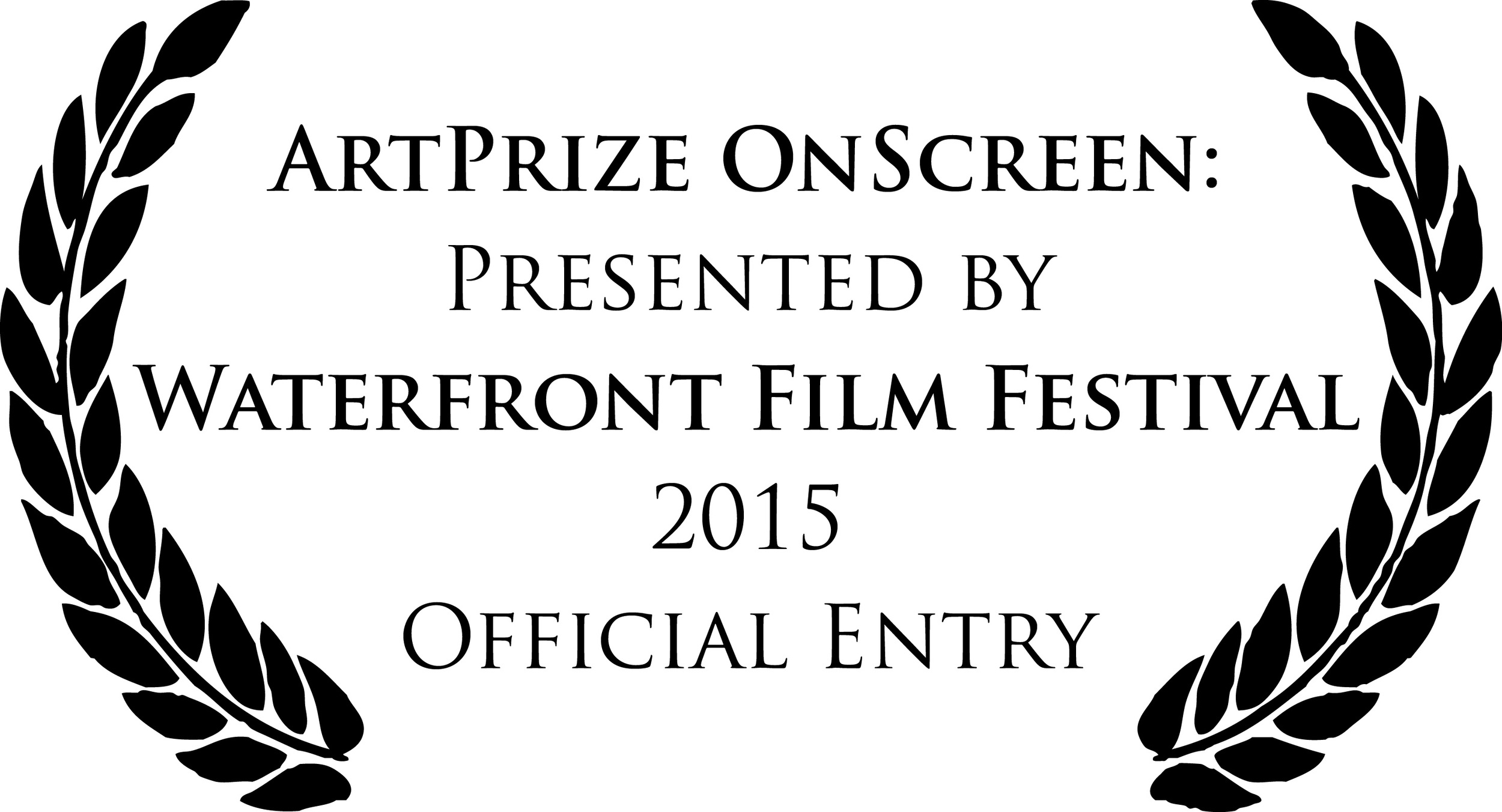 ARTPRIZE ONSCREEN: PRESENTED BY WATERFRONT FILM FESTIVAL - 2015 OFFICIAL ENTRY