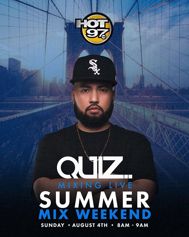 This Sunday Tune In! #hot97 #djquiz #theheavyhitterdjs