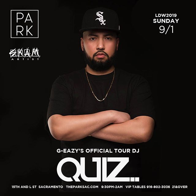 LDW Part 2! This Sunday 9/1 Sacramento at The Park Ultra Lounge. See you there! #djquiz #theheavyhitterdjs #skamartist