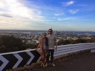 Mt. Eden - top of 1/50 volcanoes