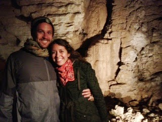 In the Waitomo Caves