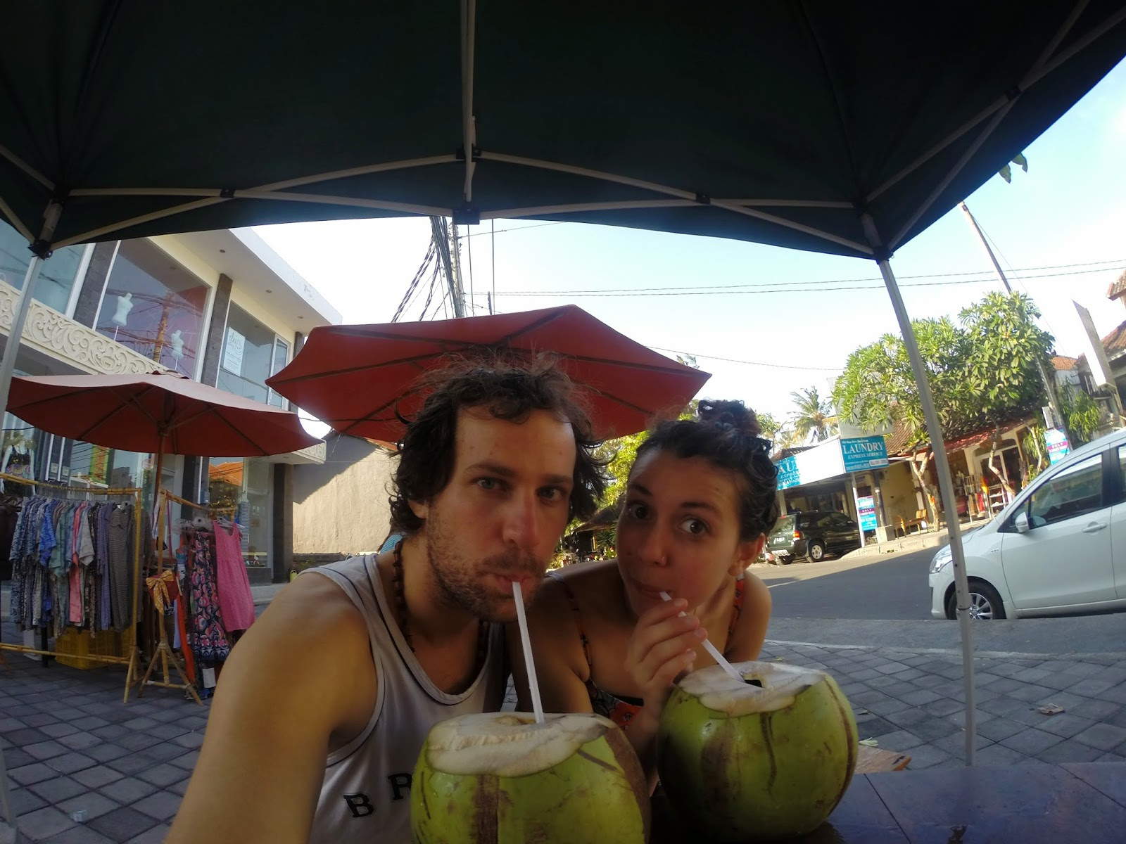 what a tasty couple o coconuts