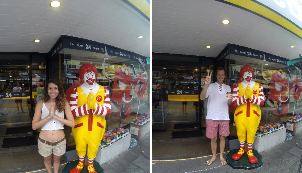 Visiting with Bangkok's native Ronnie McD