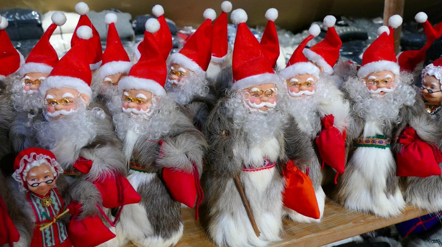 13, count 'em, 13 Santas in Icelandic culture