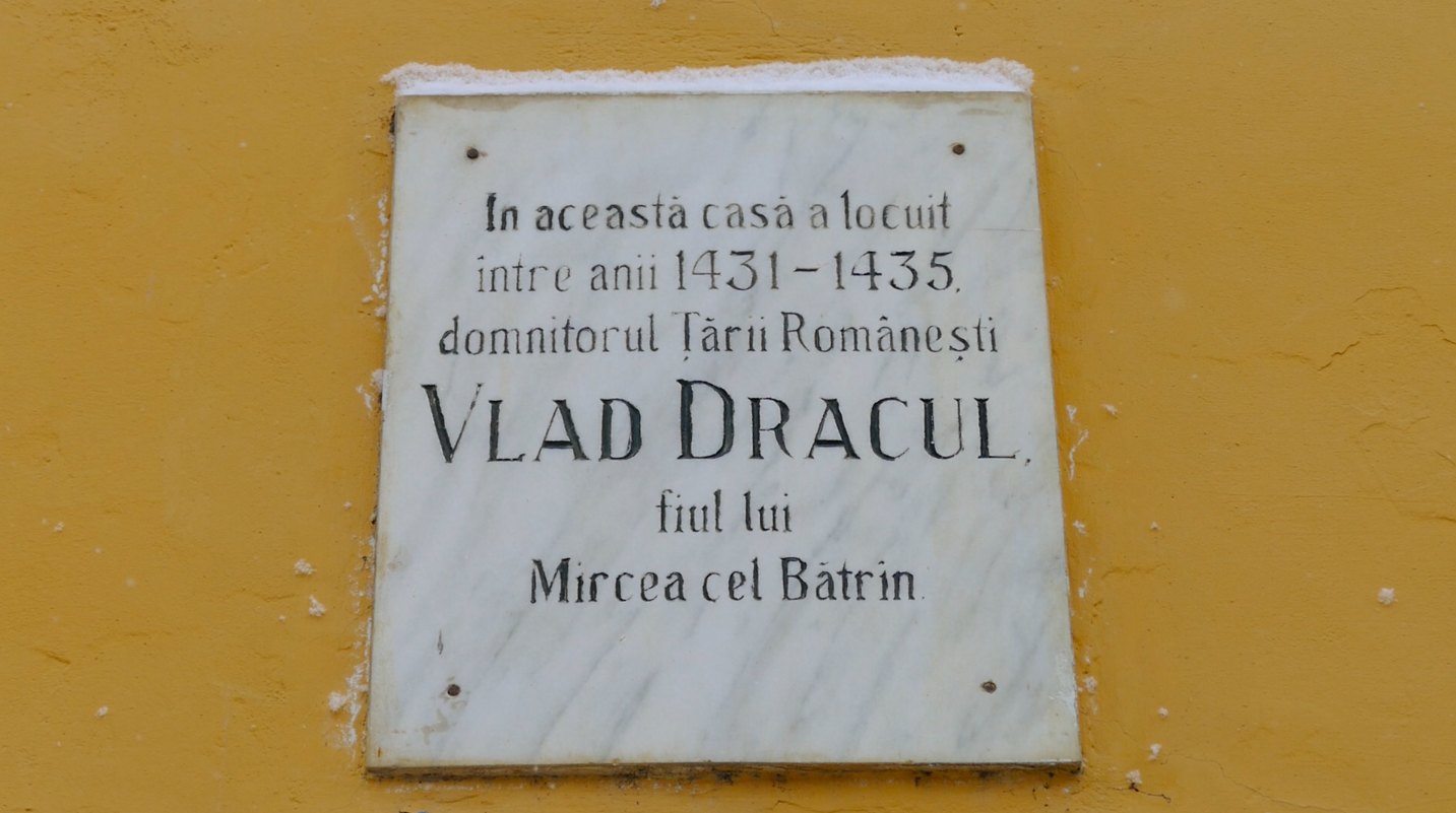 Although Vlad The Impaler is only thought to have lived in Sighisoara between 1431 and 1435, the entire town claims Vlad as their mascot.