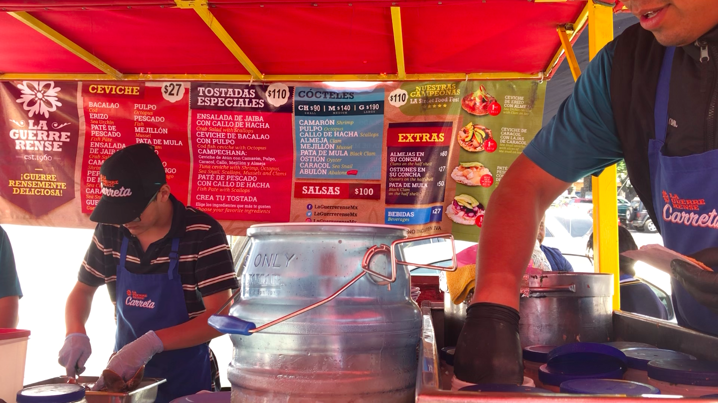 The freshest and best seafood in Ensenada