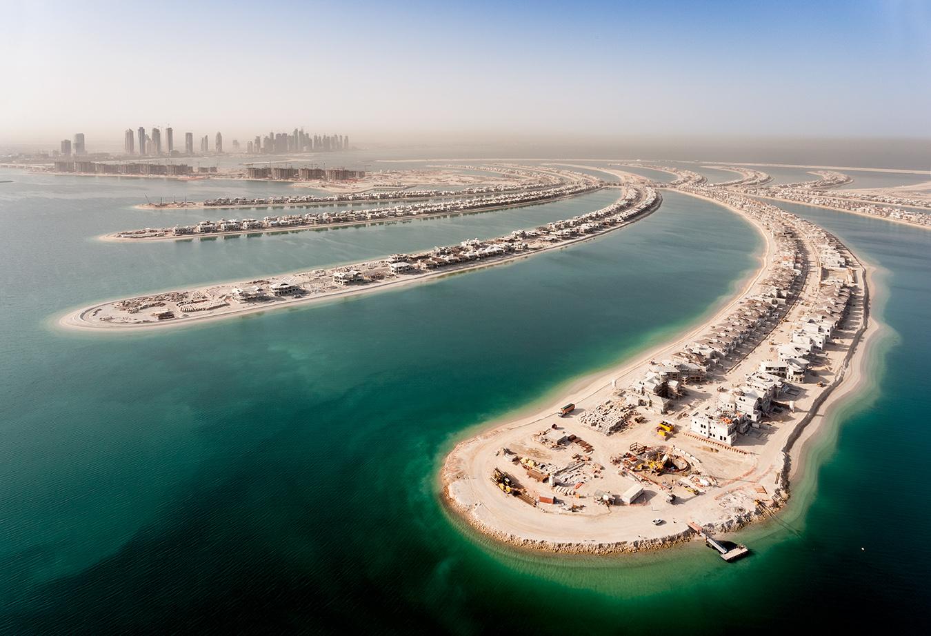 PALM JUMERIAH CONSTRUCTION, DUBAI FOR INSIDE MAGAZINE