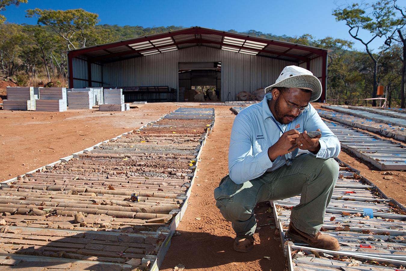 MINERAL EXPLORATION (MINEX), ZAMBIA FOR BHP BILLITON
