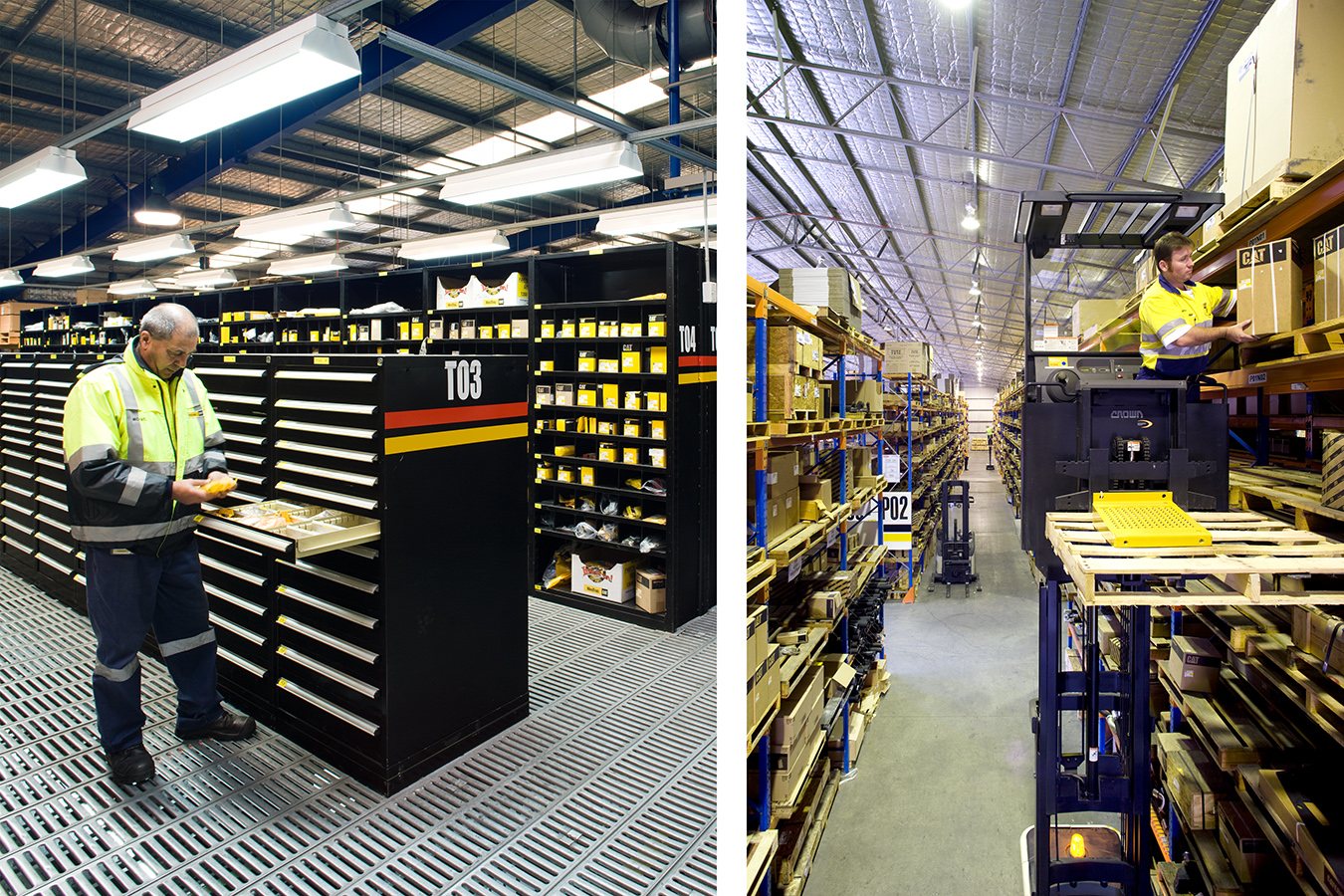 SINGLETON PARTS WAREHOUSE FOR WESTRAC