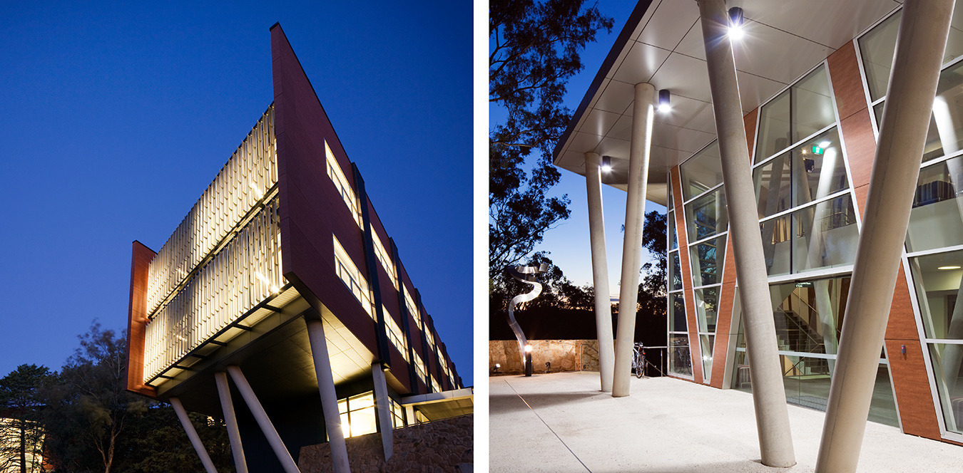 CRAWFORD SCHOOL OF ECONOMICS, ACT FOR TANNER ARCHITECTS