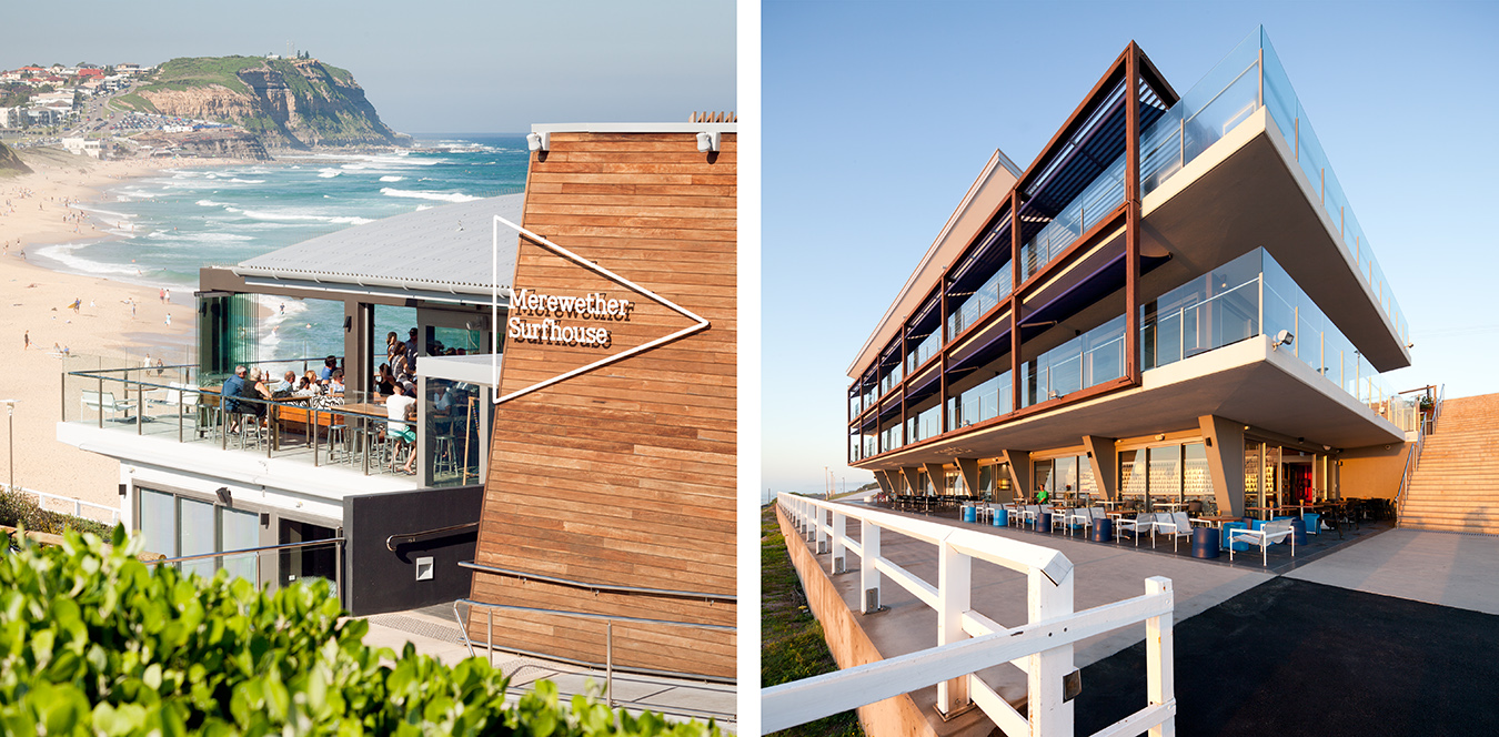 THE SURFHOUSE MEREWETHER FOR CRONE PARTNERS ARCHITECTS
