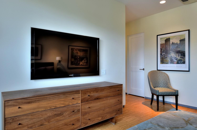 Master bedroom Samsung 50-inch HDTV