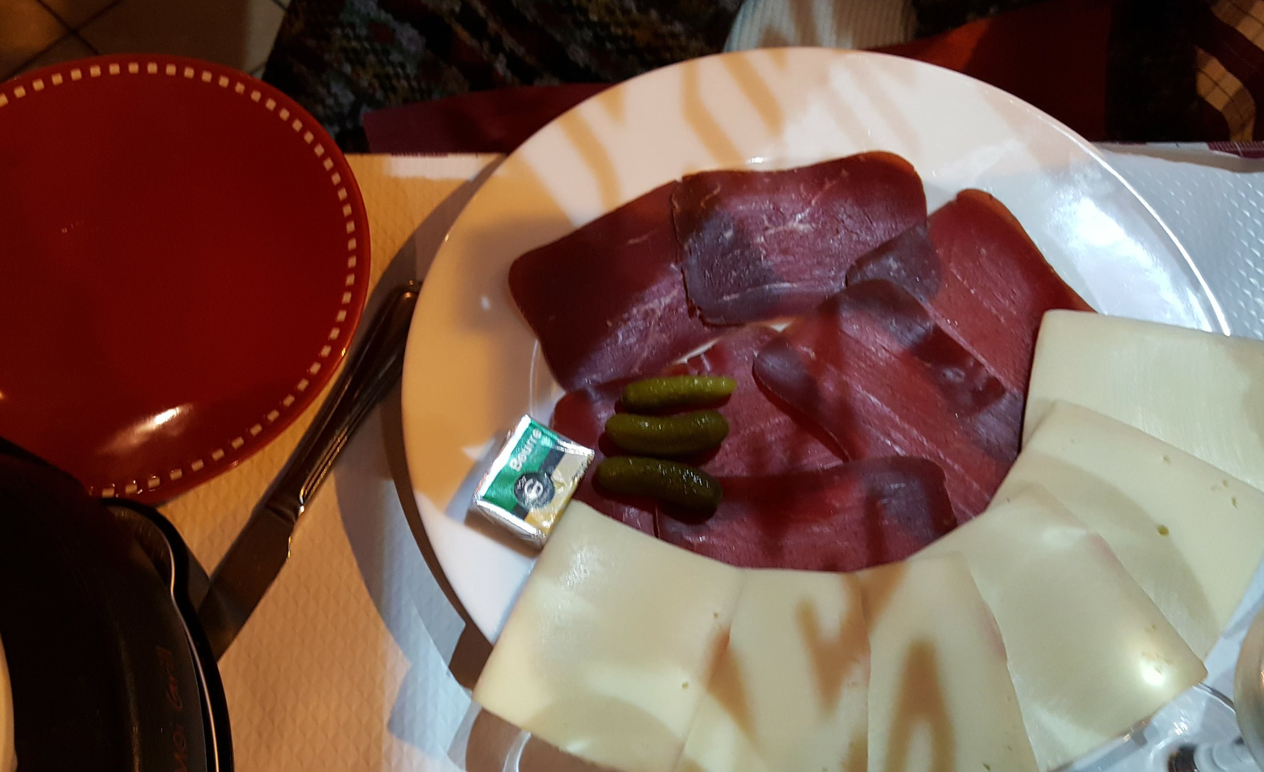 Raclette and Cured Meat