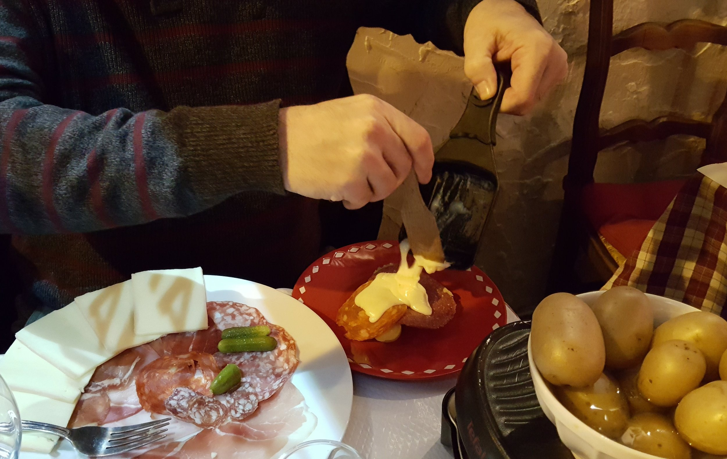 Melted Raclette