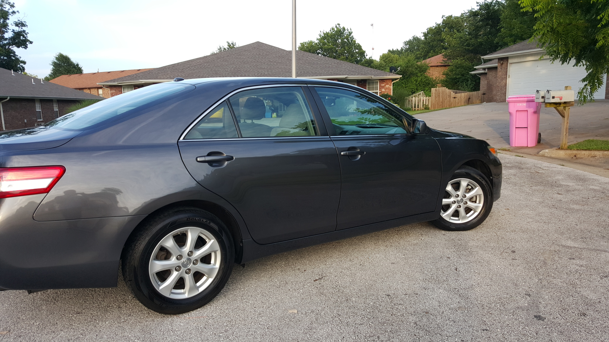 Camry looking gorgeous in this finished picture.