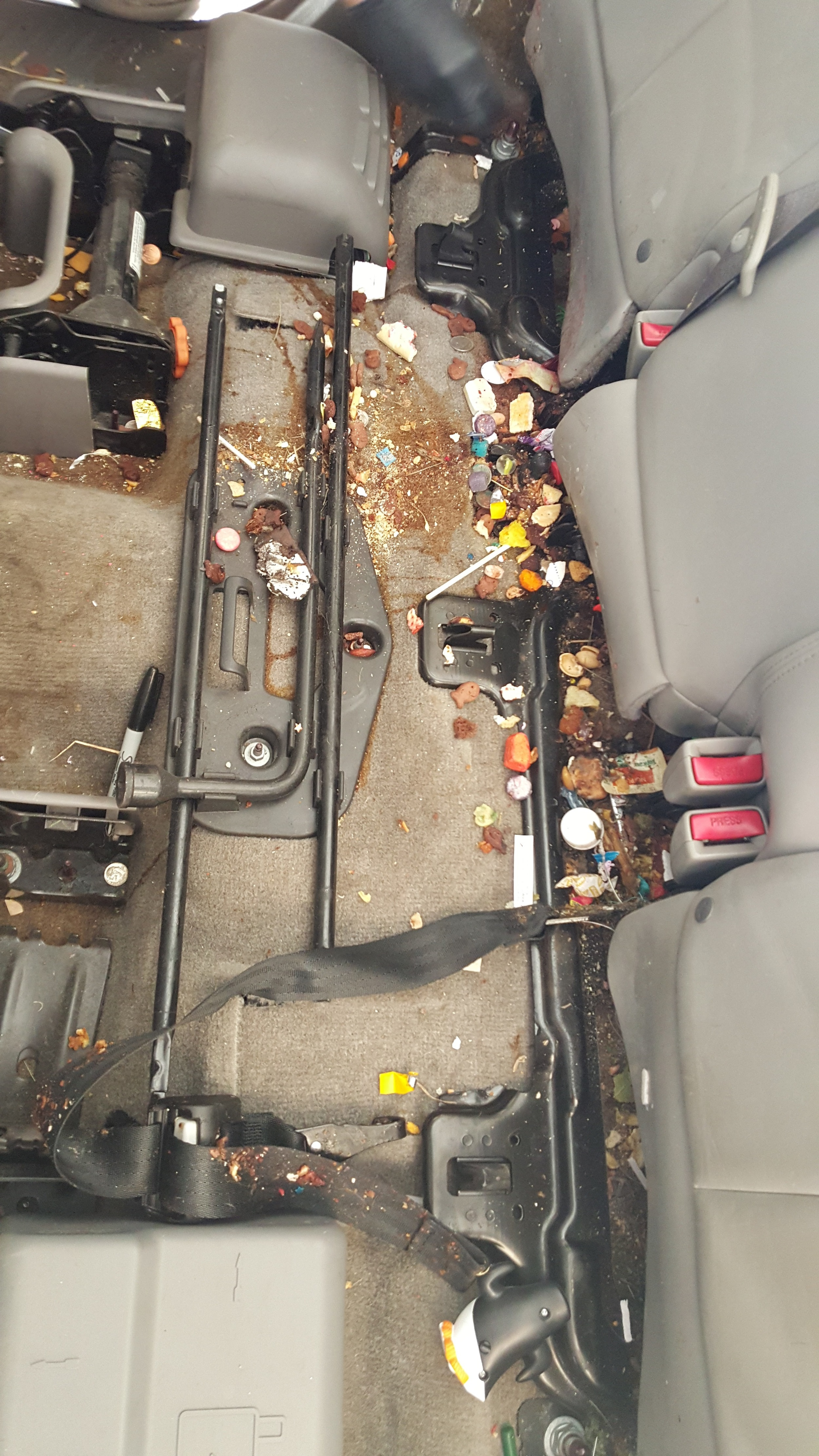 Before, Under Seats