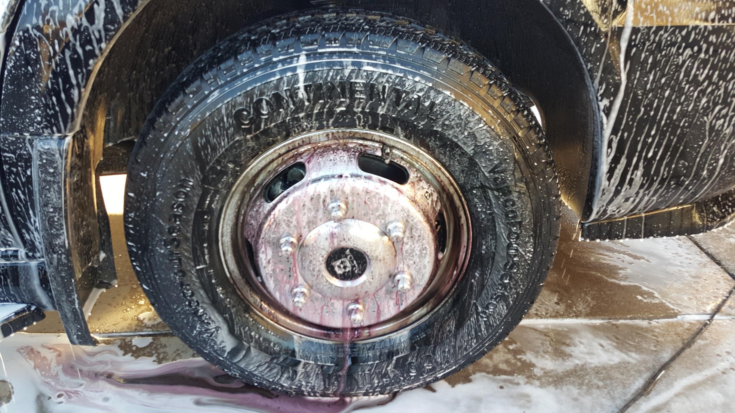 Wheels all Sonax'd