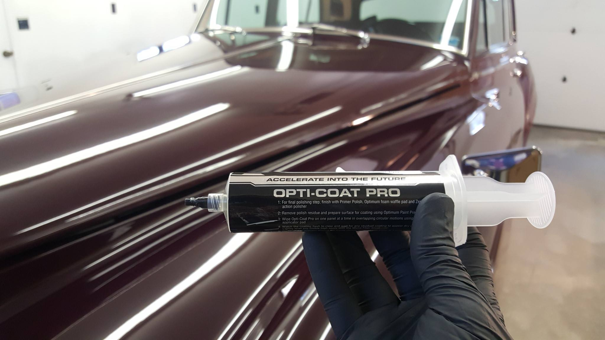 Opti-coat Pro From $ 900.00 - Permanent coating providing (9H) scratch resistance and protection from chemical damage from environmental impacts. Provides Lifetime protection with 5 year warranty