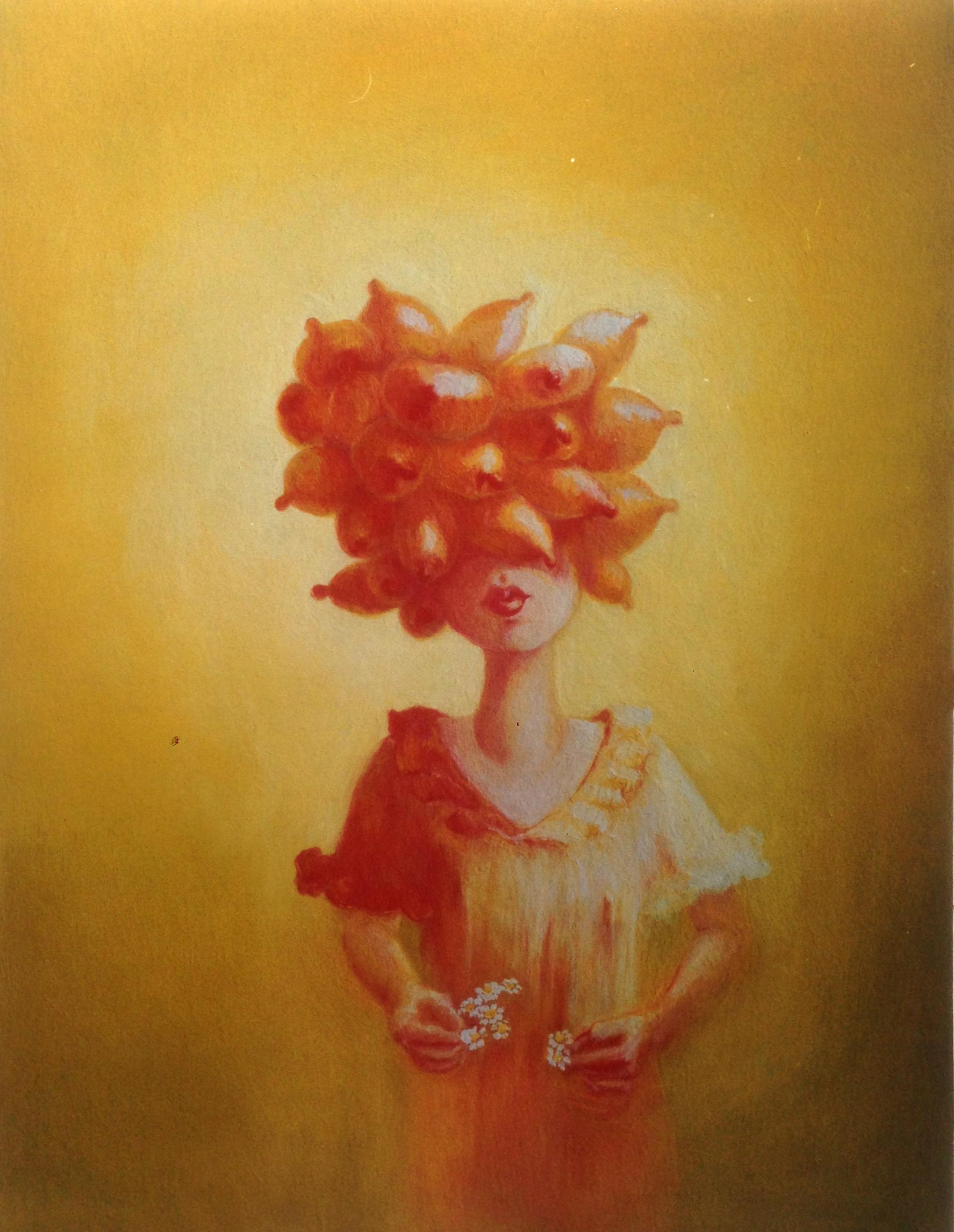Booby Girl, oil on canvas