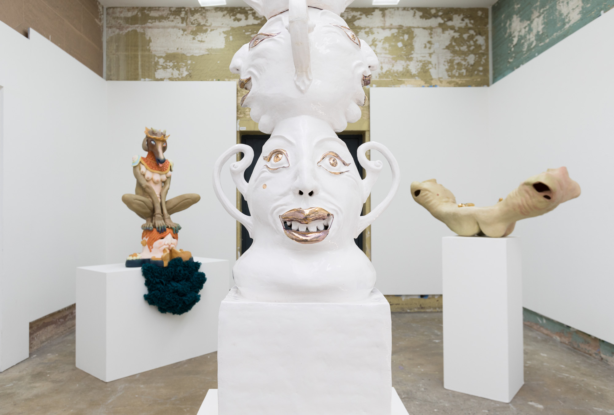 Master of Fine Arts Graduation,Installation Photo, Sydney College of the Arts 2018, Silversalt