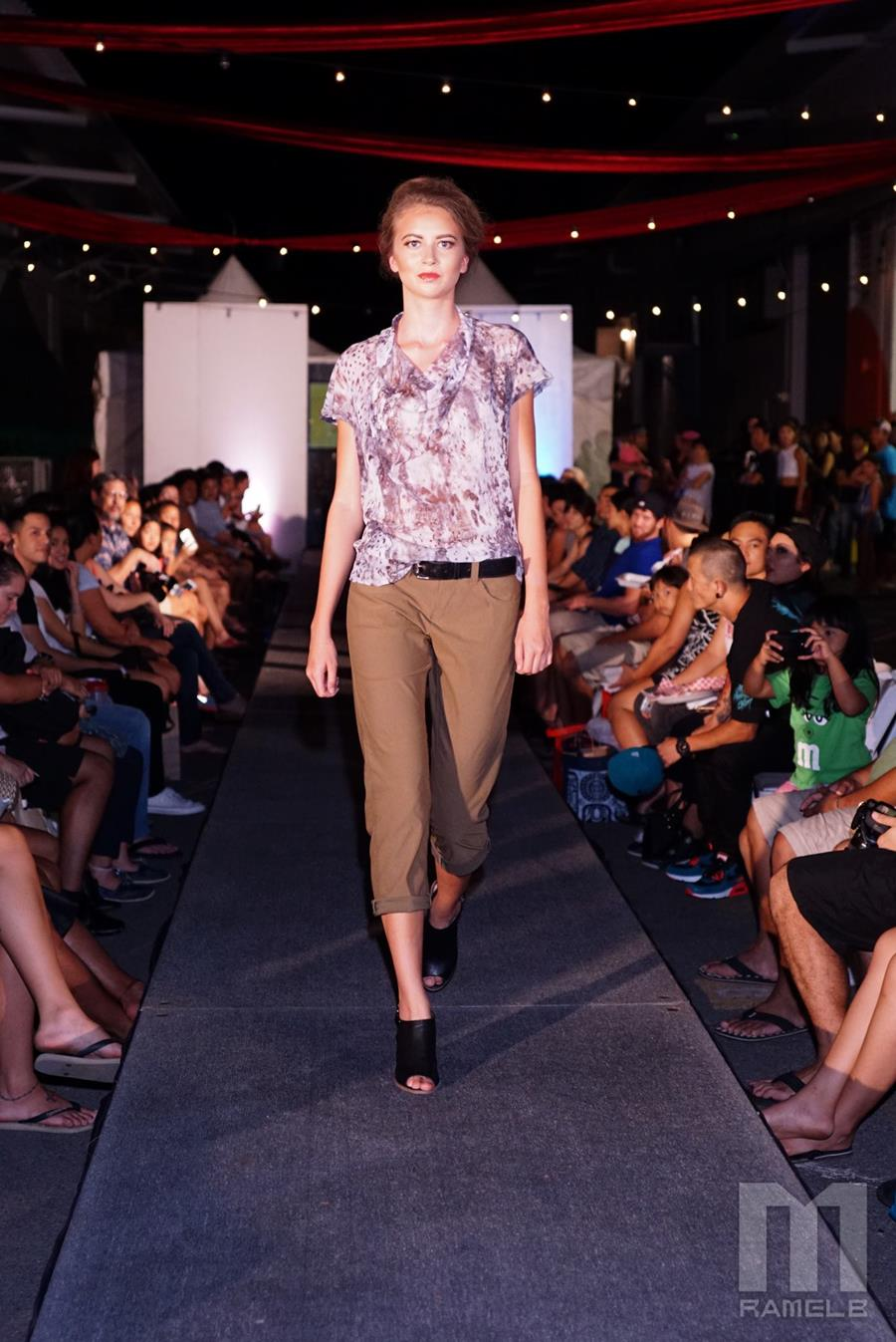 Style: Abby Shown at the Night Market, Honolulu