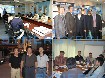 We have been appointed as the sole constructor of Apex Panel® system. We have held technical meetings with the Japanese manufacturer from time to time.