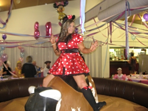 Bucking Bull great for all types of Birthday Celebrations