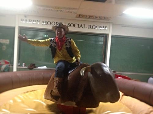 Bucking Bull riding Frankston