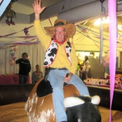 Hire a mechanical bull today