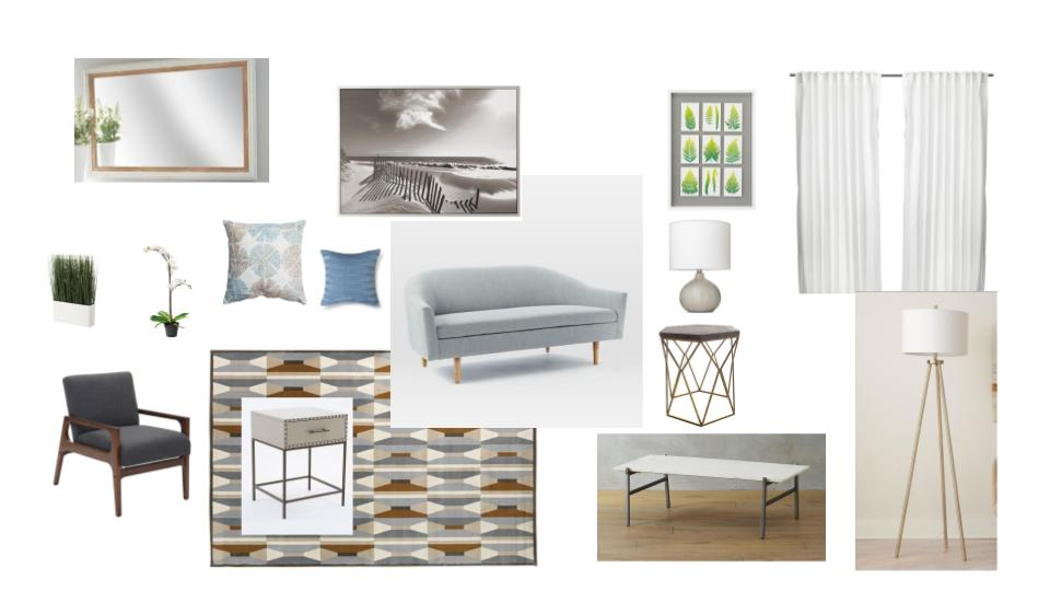 Example Mood Board for Staging