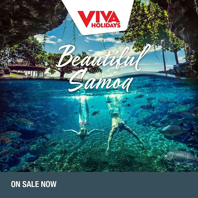Beautiful Samoa  Samoa is a postcard of natural beauty consisting of ten islands, each offering very distinct and different environments to explore. See secluded jungle waterholes and rugged volcanic peaks one day, then sparkling lagoons and white sandy beaches the next. Welcome to Samoa, the treasured islands of the South Pacific.  5 Night Accommodation Packages starting from $485pp*  On Sale till 31st August 2019  Contact KCM Travel 9439 9666 or info@kcmtravel.com.au