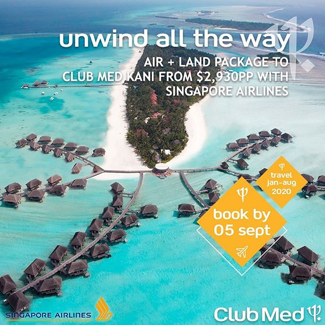 MALDIVES 7-NIGHT ALL-INCLUSIVE AIR + LAND PACKAGE FROM $2930*pp Includes flights, transfers, accommodation, gourmet dining, open bar, sports, entertainment, relaxation and wifi!  Offer available for travel 28 January - 15 August 2020, but hurry this offer will run out, book by 5 September  T&C's Apply  Contact KCM Travel 9439 9666 or info@kcmtravel.com.au