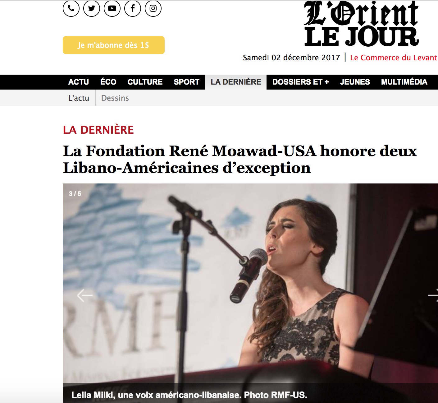 News — Leila Milki