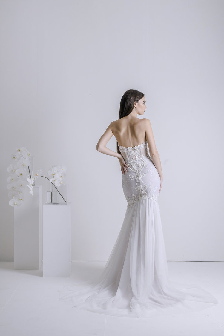 snowfall - bridal collection